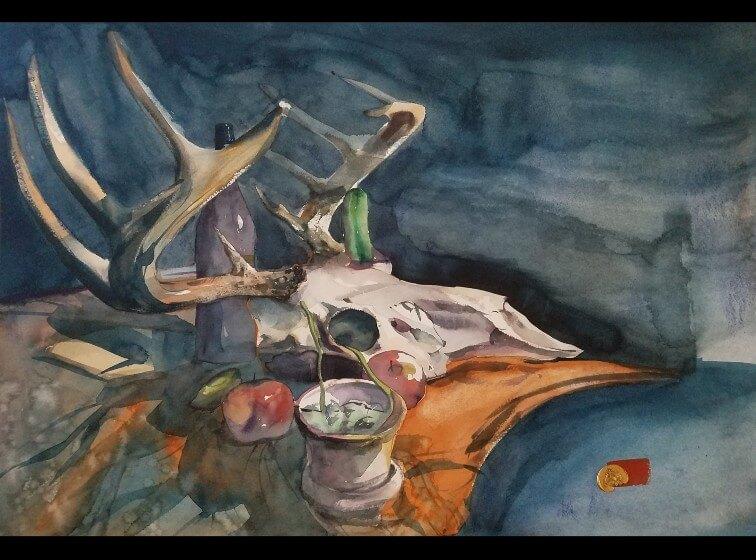 Antonio Gonzalez Garcia - Artemis still life