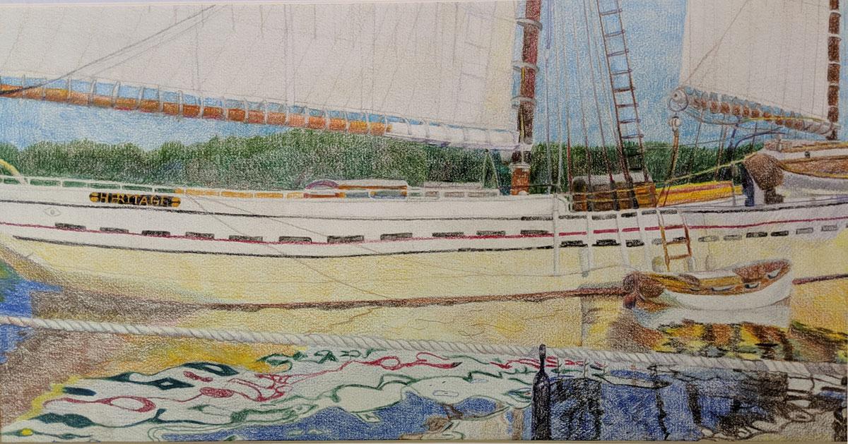 Michele Hamsher - No Ordinary Sailing Ship