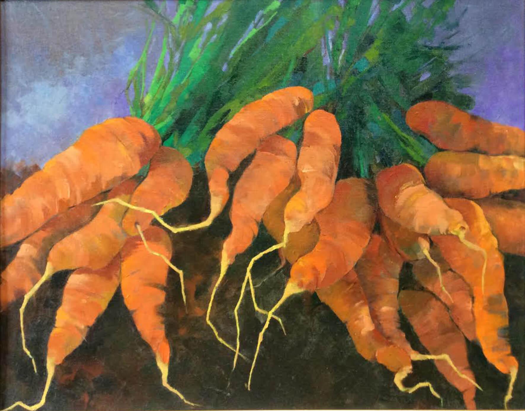 Judith Hazen - Carrot Frenzy