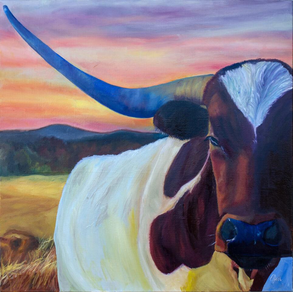 Ellen Knolls - Texas Sunset