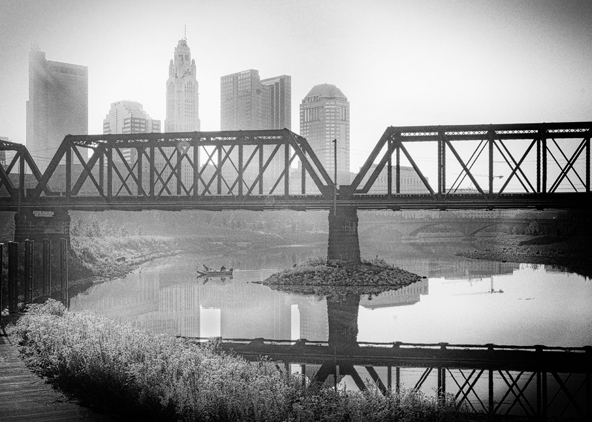 Cheryl Todd -  Morning Catch on the Scioto River