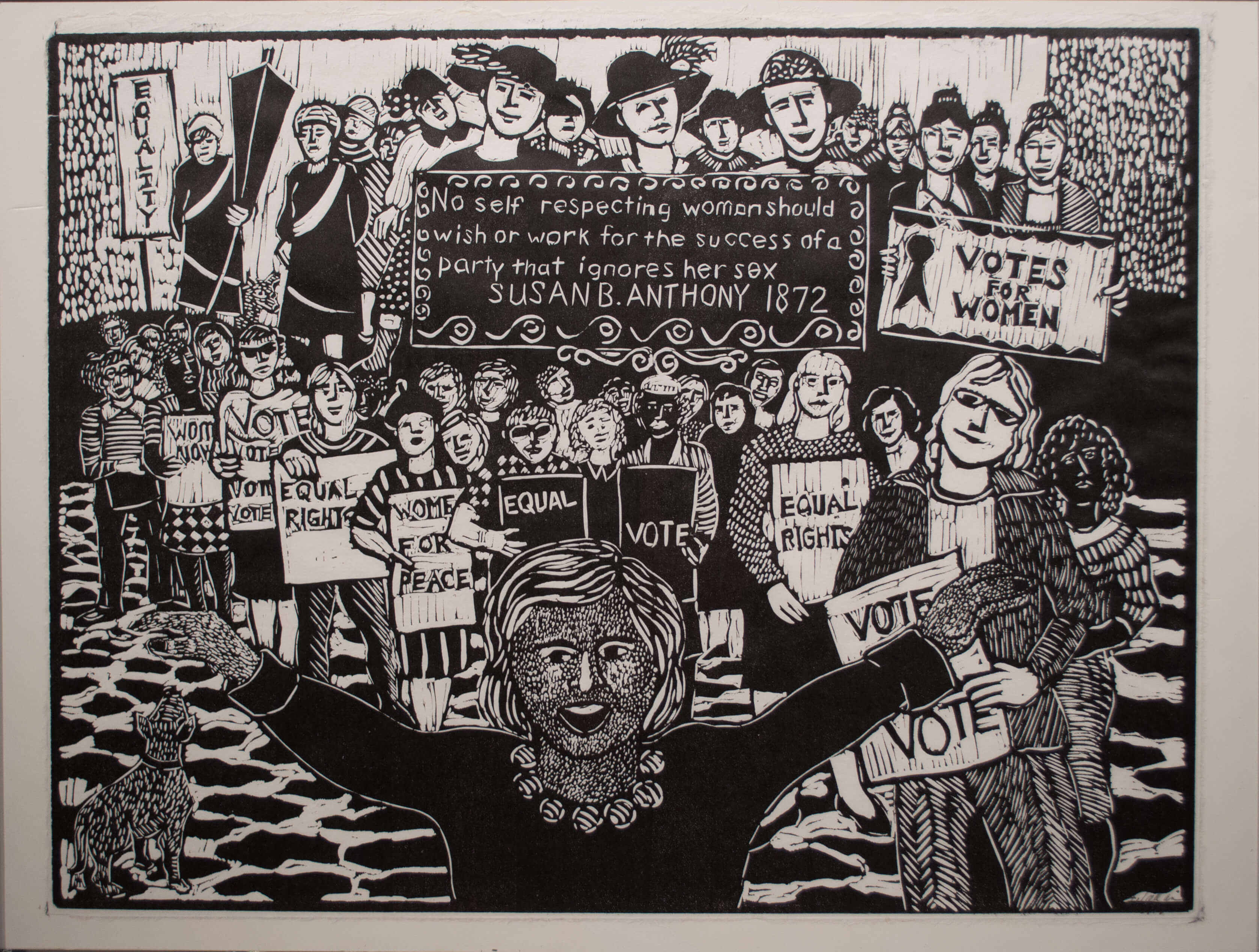 Joan Tallan - Womens Right to Vote