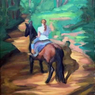 Angela Finney - Creek Ride