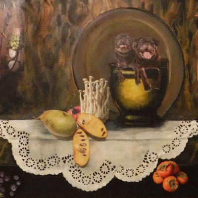 Susann Moeller - Still Life with Pugs