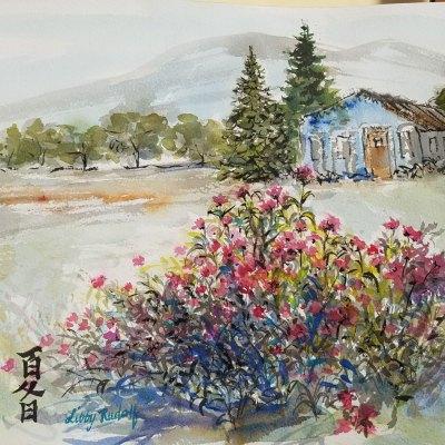 Libby Rudolf - House with Gardens