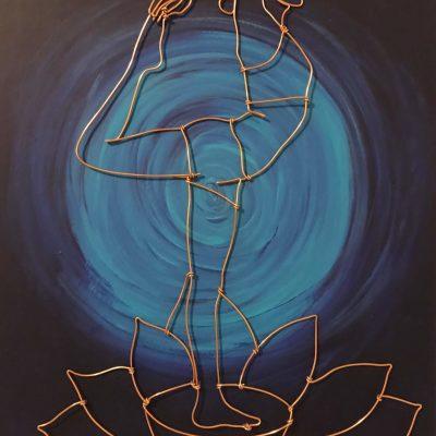 Yani Sheng - Yoga on lotus