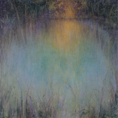 Teda Theis - Ohio Pond at Daybreak