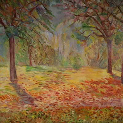 Veena Bansal - One Fall Morning