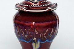 Gail Russell - Bluebird Lidded Jar